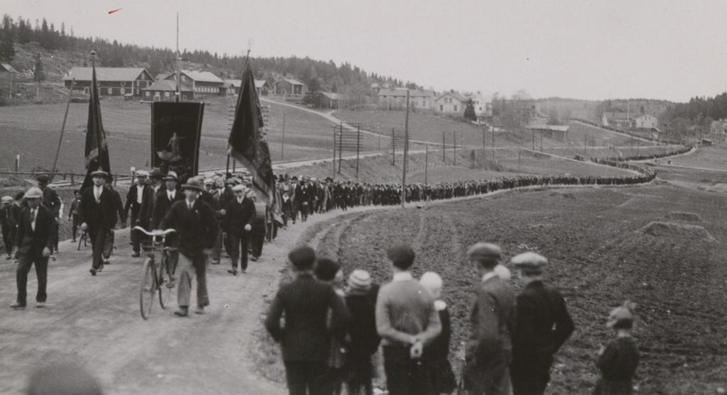 Ådalen demonstration maj 1931