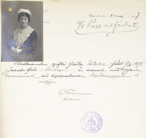 bild av passhandling
